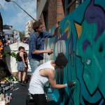 Changing Lanes festival 2011 in Surry Hills, Sydney. Shot by Constantine Korsovitis for IntheMix.