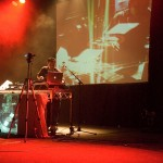 Mixmaster Mike live at the metro theatre, photographed by Constantine Korsovitis for Karma Images