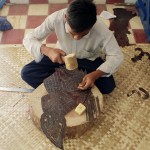 Siem Reap puppetry workshop, Cambodia. Photographed by Constantine Korsovitis for Karma Images