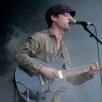 Clap your hands say Yeah live at Harvest Music Festival 2011, Sydney. Photographed by Constantine Korsovitis for InTheMix