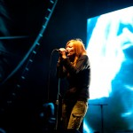 Portishead live at Harvest Music Festival 2011, Sydney. Photographed by Constantine Korsovitis for InTheMix