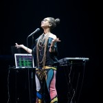 Erykah Badu live at the Opera House. Photographed by Kosta Korsovitis for Karma Images