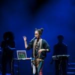 Erykah Badu live at the Opera House. Photographed by Kosta Korsovitis for Karma Images