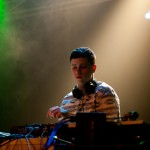 Rustie live at Hold Tight, Metro Theatre, Sydney. Photographed by Karma Images for Niche Productions.